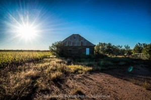 Abandoned Farm Hand Farm House in West Texas