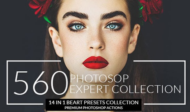 InkyDeals Expert Photoshop Actions Collections