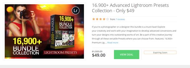 InkyDeals Lightroom Preset Collection