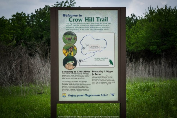 Crow Hill Trail at Hagerman National Wildlife Refuge