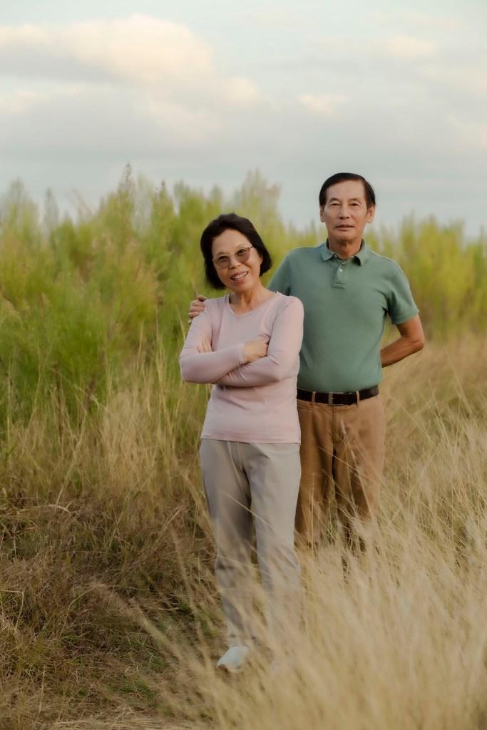 parents field portrait