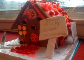 Gingerbread ruby palace