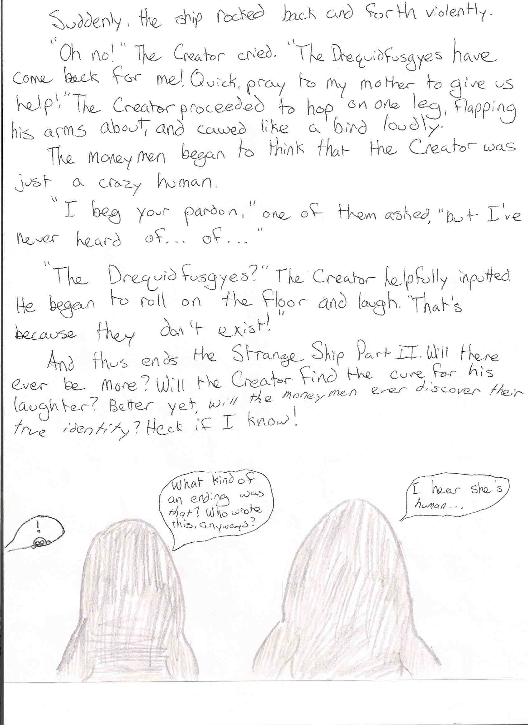 Libby's Ending for The Strange Ship, Part II (Page 5)