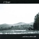 James Krueger, ... and then a silence falls