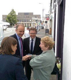 Micheal Martin James Lawless Naas 4