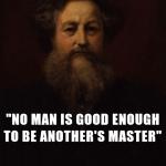 no man can control men