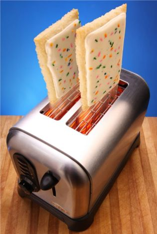 Pop-Tarts in Toaster Machine