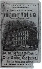 Vintage Montgomery Ward Catalog Cover Image