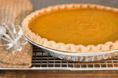 Cushaw Pie, via Jamie Grill/Tetra/Getty Images