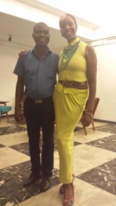 Martin Egblewogbe and Esther Armah