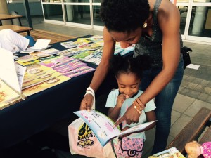 Kids shown the importance of reading