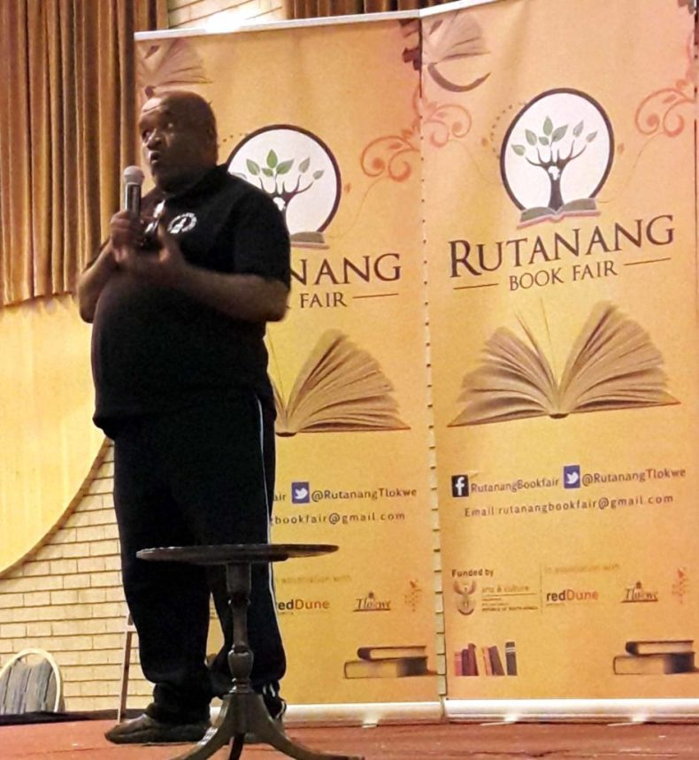 A representative of Tlokwe Heritage Foundation talks about its history.