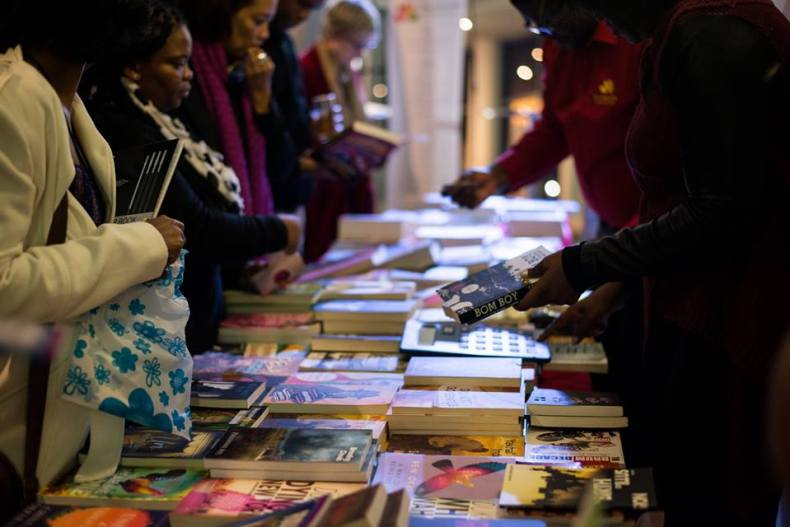 books at event