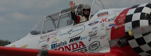 Jim with Aeroshell Acrobatic Team