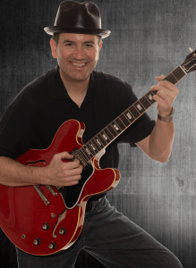 Jim with his Gibson ES-335