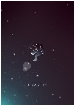 gravity_alternative_minimal_poster__by_cw_posters-d6vt6rz