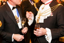GB. England. London. City of London. Worshipful Company of Drapers Dinner. Drapers' Hall. 2014.
