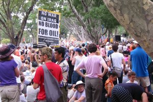 Peace March in Sydney