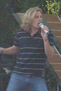 Martin Rolinski from BWO rehearses at Allsang pa Skansen