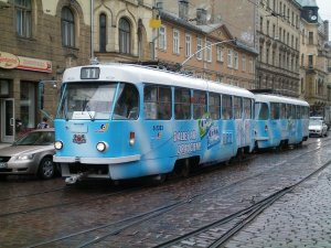 Riga's tram system isn't that modern, but still better than Tallinn