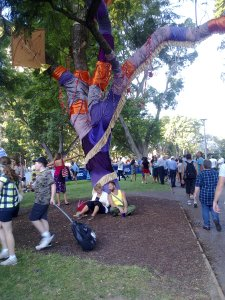 Hyde Park transformation with Sydney Festival