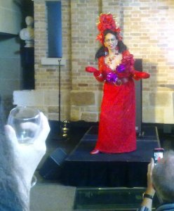 Legendary performer, Carmen at the Museum of Sydney