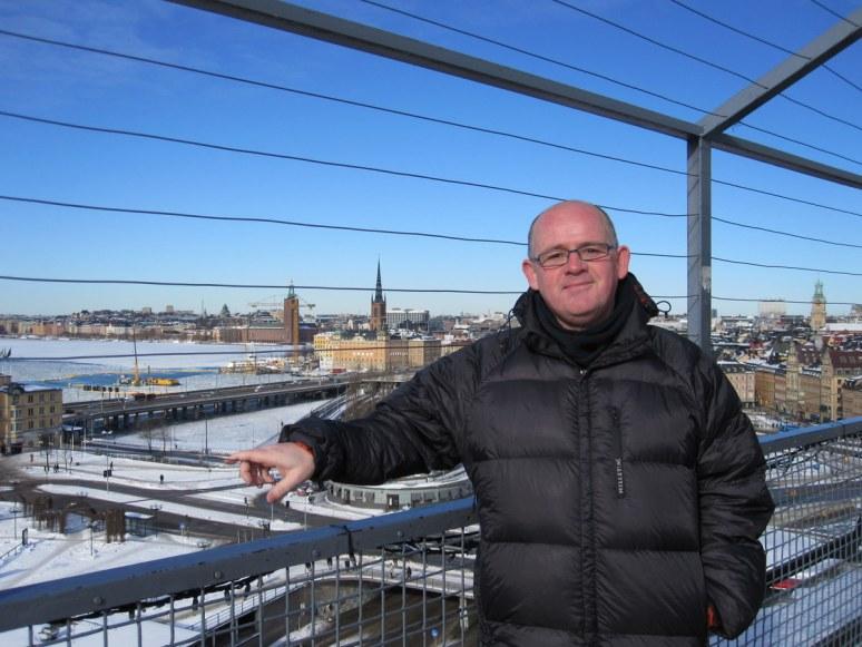 Overlooking Stockholm
