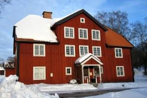 Rock carvings museum in Norrkoping
