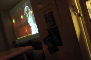 Watching Melodifestivalen at Torget