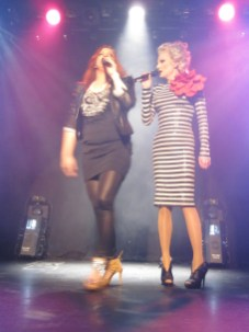 Shirley Clamp and another drag queen
