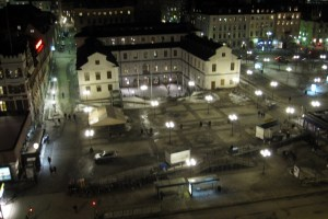 Stockholm City Museum viewed from Katarinahissen