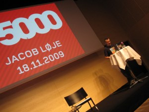 Jacob Loje from Danish radio station P5000