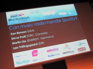 Can music radio handle Spotify