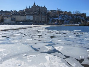 The ice continues to break up