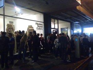 Galleries on Flinders Street