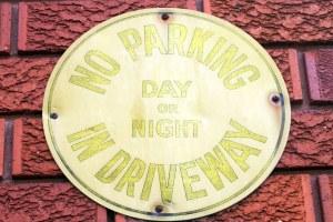 No Parking on Hastings Lane