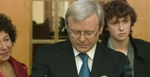 Kevin Rudd press conference