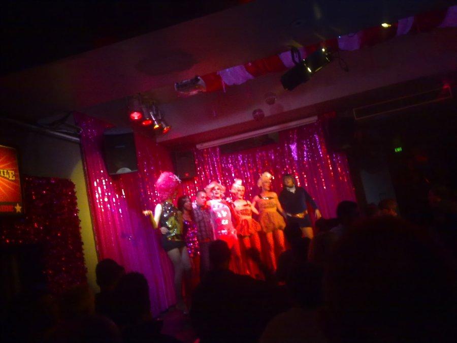 Drag show at Stonewall
