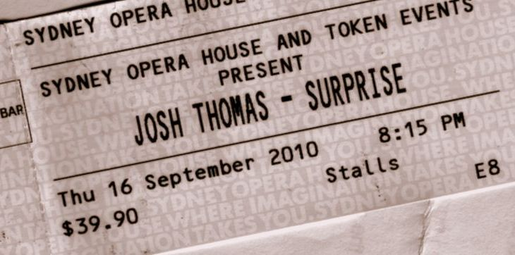 Josh Thomas at the Oprah House