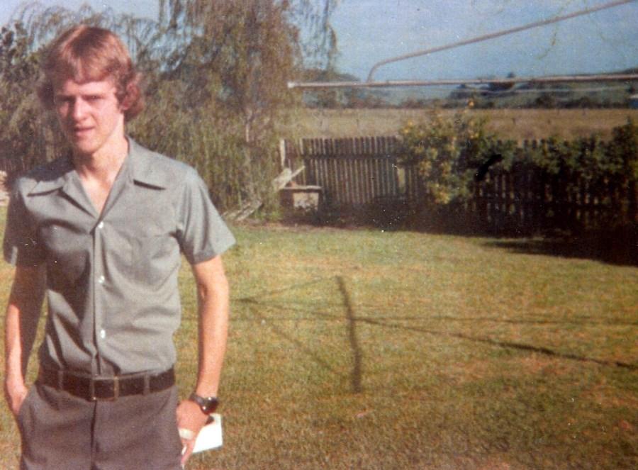Waif-like teenage James