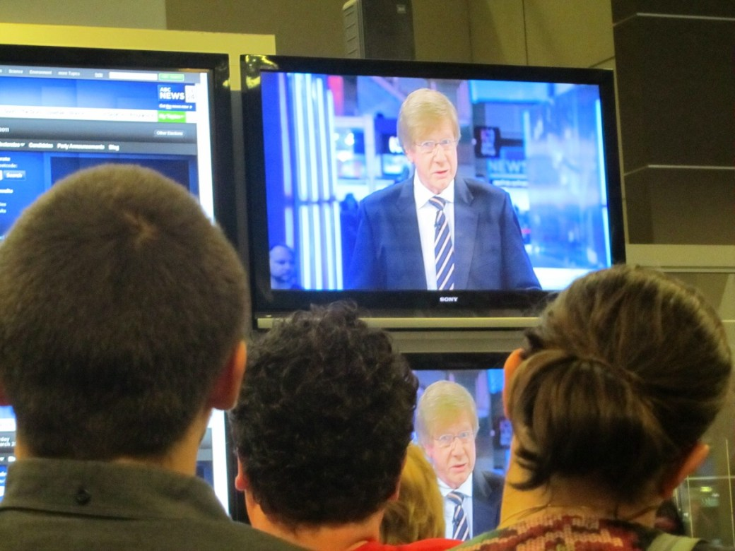 Election night at the ABC