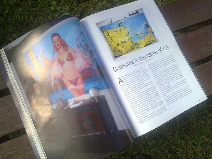 Hunter Lifestyle magazine article by Marilyn Collins