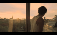 Break of Dawn video clip by Eric Saade with Stockholm imagery