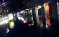 Footpath Flooding on George Street, Sydney