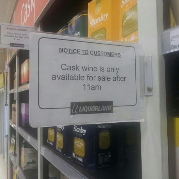 Cask Wine