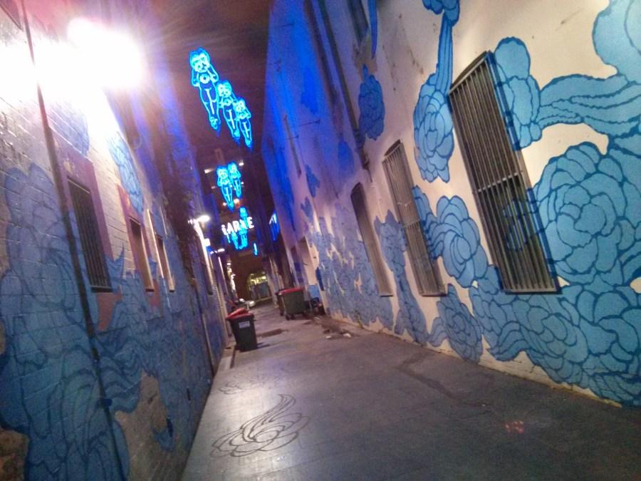 Jason Wing Laneway in Chinatown, Sydney