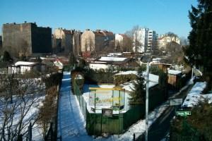 Small gardens near Mitte in Berlin