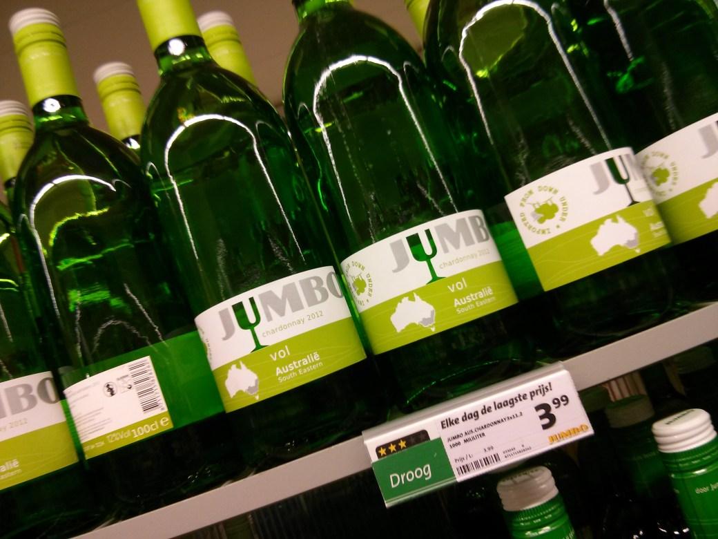 Jumbo brand wine from Australia
