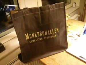 Munkbrohallen Shopping Bag