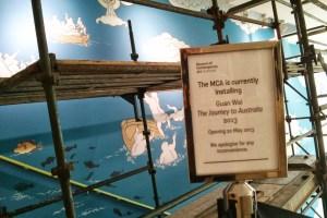 Guan Wei installation at MCA